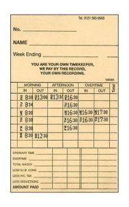 Clock Card Calculator Plus  – Allday Time Systems